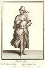 TURCHIA - EUNUCO - HAREM  Incisione Originale Nicolas Bonnart