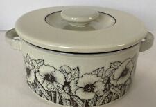 More details for hornsea pottery cornrose design oven proof casserole dish with lid