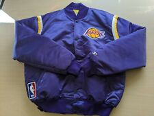 Los Angeles Lakers 1980's Vintage Brand New Purple Starter Jacket Men's XL
