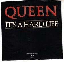 QUEEN: IT'S A HARD LIFE / IS THIS THE WORLD WE CREATED...? 45 RPM MAY MERCURY