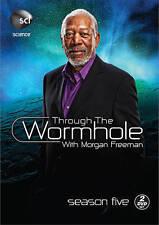 Through the Wormhole: Season 5 (DVD, 2015, 2-Disc Set) free shipping