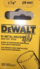 """DeWalt D180018 1-1/8"""" Bi Metal Hole Saw . New"""