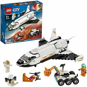 LEGO 60226 City Mars Research Space Shuttle Rover & Drone Building Toy Playset
