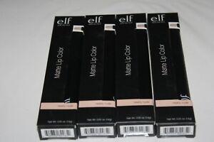 e.l.f. Matte Lip Color Lipstick #82465 NEARLY NUDE SEALED PICK YOUR + GIFT