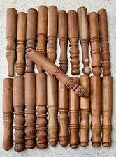 More details for hand carved wood stick mallet for singing bowl meditation stress relief 20cm