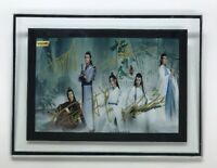 Signed Photo The Untamed Yibo Wang Sean Xiao Autograph with Frame 陈情令 王一博 肖战