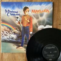 Marillion ~ Misplaced Childhood (EMI UK: MRL 2 EJ 2403401) 1985 1st Vinyl Press