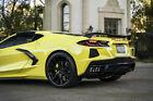 Blaque Diamond 19x8.5 20x12 Bd-f18 Black Concave Wheels Rims Fits C8 Corvette
