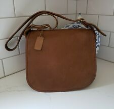 Vintage Coach Hippie Saddlebag Classic Flap In BritishTan NYCity Pretty Nice!