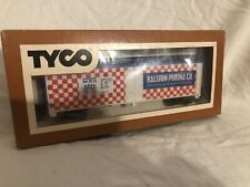 HO scale TYCO Ralston Purina Feeds 40' billboard advertising reefer car train