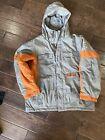 Kids Burton Snow/ski Jacket Size XL Orange/Gray