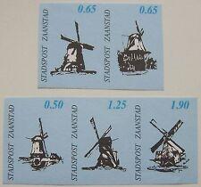 Stadspost Zaanstad 1993 - Serie Zaanse Molens, Mühlen, Mills ongetand
