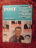 RARE Saturday Evening POST June 4 1966 DON ADAMS RONALD REAGAN