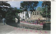 Riverwalk   Boat Sea Ark    San Antonio  TX    Unused Chrome Postcard 12114