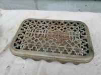 Antique Cast iron Radiator Cover  13 1/2 x 9 x 3 1/2""