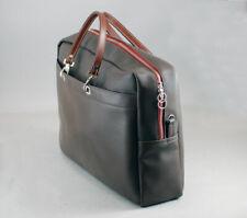 More details for buffet - francoise renier leather designer clarinet case bag dark tan