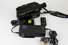 Vintage / Retro SONY CCD-TRV27E Video8 XR Camcorder Handycam **FREE UK P&P**