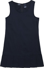 French Toast Girls Pleated Hem Jumper Navy 7 #Ry755-77