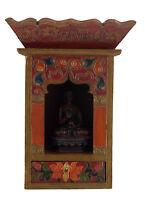 Tempio Altare Tibetano Scatola Per Soprammobile Budda Tibet 29x21 CM Tibet 25306