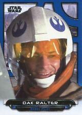 Star Wars Galactic Files Reborn Blue Parallel Base Card ESB-14 Dak Ralter