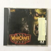WarCraft III 3 Reign of Chaos  (PC, 2002) Game w/ CD Key