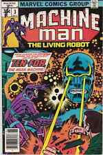 Machine Man #3 MARVEL comics Jack Kirby 1978 70's Kirby Stan Lee  CHEAP!