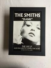 The Smiths Rank Framed   A4 Advert