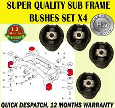 FOR BMW X5 E53 2000-2007 4x REAR SUBFRAME FRONT & REAR BUSHES SET HEAVY DUTY