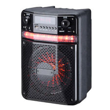 Pyle PWMA447BT Portable Bluetooth Karaoke Speaker System Digital PA Loudspeaker