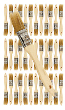 36 Pk- 1 inch Chip Paint Brushes for Paint, Stains,Varnishes,Glues,Gesso