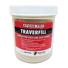 Stone Pro Traverfill - Travertine Hole and Void Repair - 1 Pound - Dark
