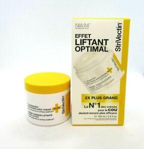 StriVectin The Big Lift Neck Cream Plus ~ 3.4 oz ~ BNIB