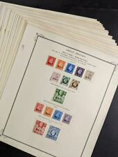 Edw1949Sell : Great Britain Offices Abroad. Beautiful, all Vf Mint Og collection