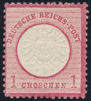 DR 1872, MiNr. 19, sauber ungebraucht, gepr. Jäschke-L., Mi. 100,-