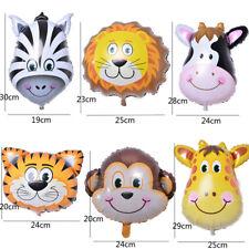 6X Jolie tête d'animal ballon zoo anniversaire mariage bébé decor jouets enfants