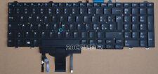 NEW FOR DELL Latitude E5570 5580 Keyboard Backlit Italian Tastiera No Frame