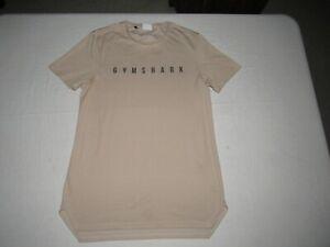 Gymshark Men's Brown Short Sleeve Athletic Shirt Size M