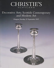 Arts décoratifs Scottish Contemporary Ceramics meubles METAL auction catalogue