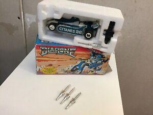 Transformers G1 DIACLONE MIRAGE + BOX takara japan FRANCE ceji
