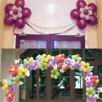 20 Pcs of Plastic Flower Balloon Clips Tie for Sealing Wedding Party Decoration