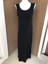 New $99 Chico's Travelers Long Black Aquarius Maxi Dress Size 3 = XL 16 18 NWT