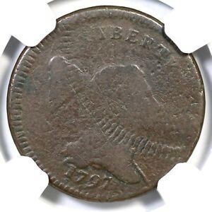 1797 C-3a NGC G Details Low Head Pl Edge Liberty Cap Half Cent Coin 1/2c