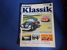 Moteur Classique Magazine 08.1989 Okrasa-Käfer Porsche 356 BMW R 67 AA1