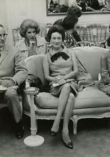 Wallis Simpson, duchesse de Windsor, au premier rang, et l'actrice Nancy Ma