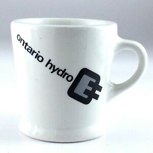 Vintage Hotel Wear Ontario Hydro Mug Porcelain Grindley Hotelware Co K846