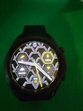 Samsung Galaxy Watch3 45mm Titanium Case with Stainless Steel Band Smartwatch...