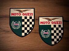 2x MOTO GUZZI adesivo vintage retrò CASTROL MOTO Oldtimer MGX v7 v9 #234