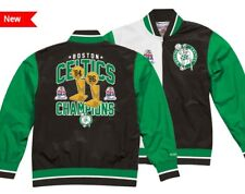 Authentic NBA Mitchell & Ness Split Boston Celtics Champions Warm up Jacket