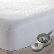 Sunbeam Heated Mattress Pad, King - King Size - 10 Hour [automactic Shut Off] -