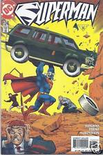 Superman Comic Issue 124 Modern Age First Print 1997 Jurgens Frenz Rubinstein DC